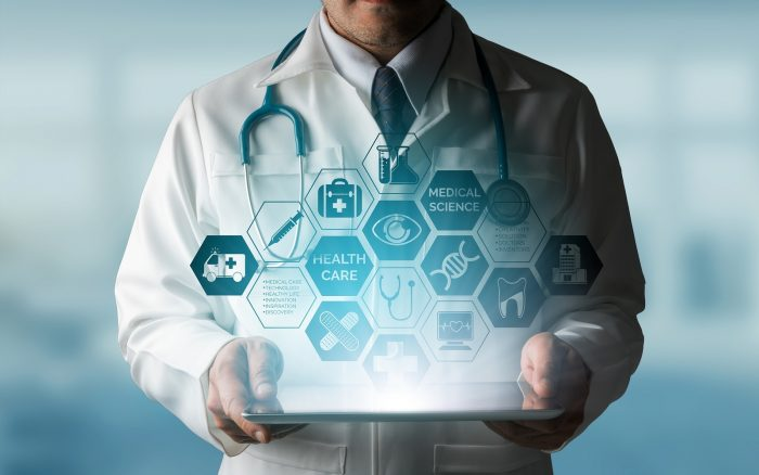 Bigstock Doctor With Medical Healthcare